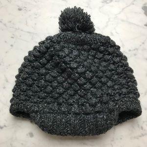 Mossimo Supply Co Knit Pom Pom Brimmed Beanie Hat